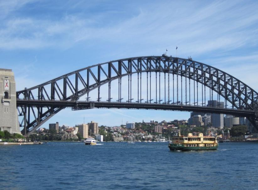 Sydney, Australia Manly Beach ferry ride
