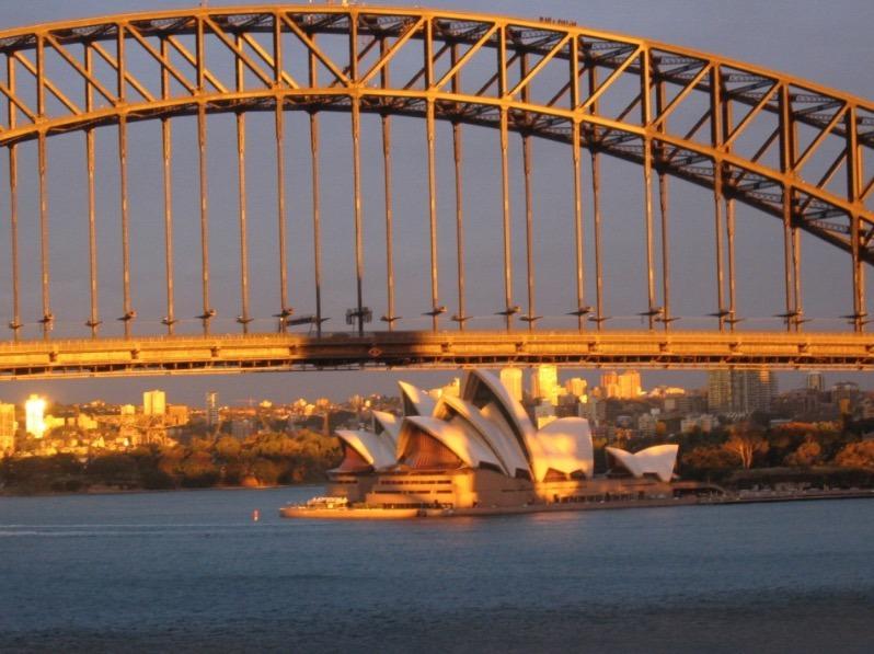 Sydney Australia Opera House sunset picture