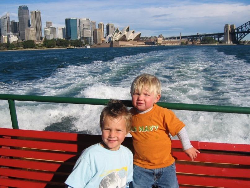 Sydney, Australia Manly Beach ferry