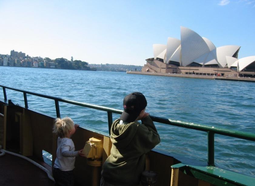 Sydney, Australia ferry rides