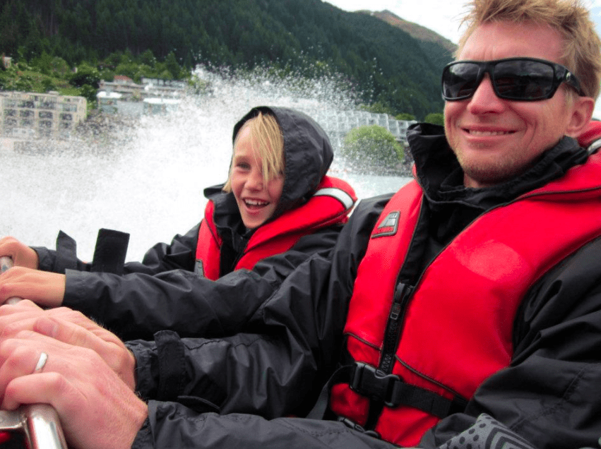 Jetboating in Queenstown with Kids shotover