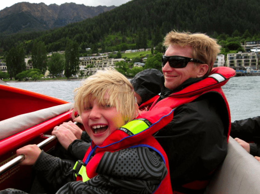 Shotover RIver - Jetboating in Queenstown with Kids