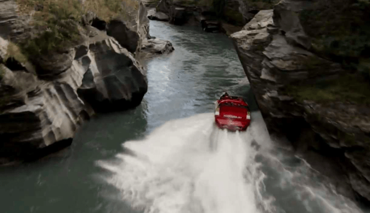 Thrilling for kids - Jetboating in Queenstown with Kids