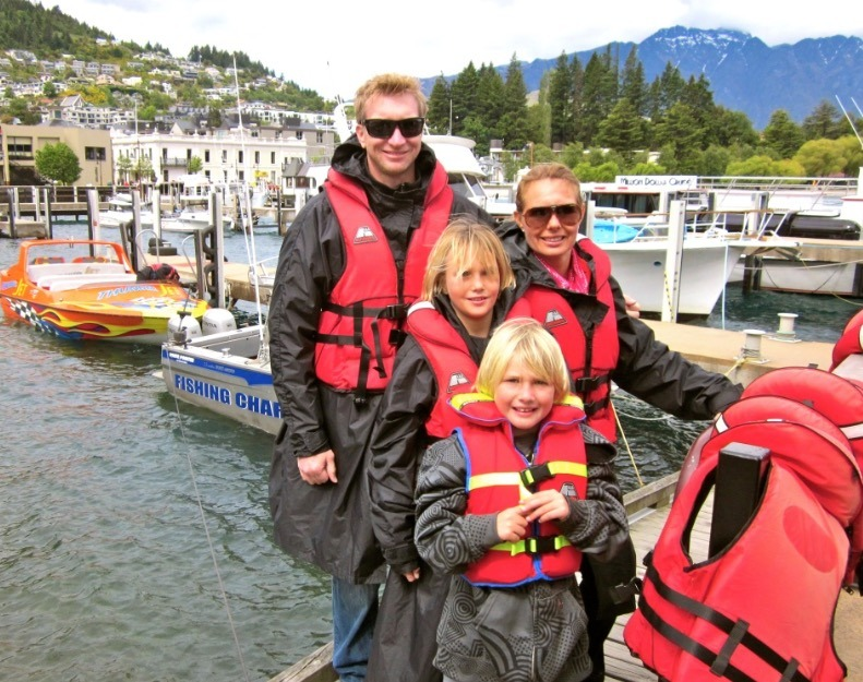 Jetboating in Queenstown with Kids