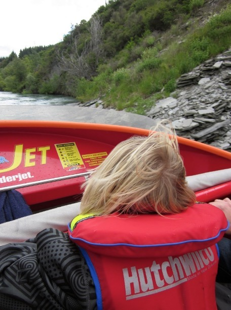 Thrill RIde - Jetboating in Queenstown with Kids