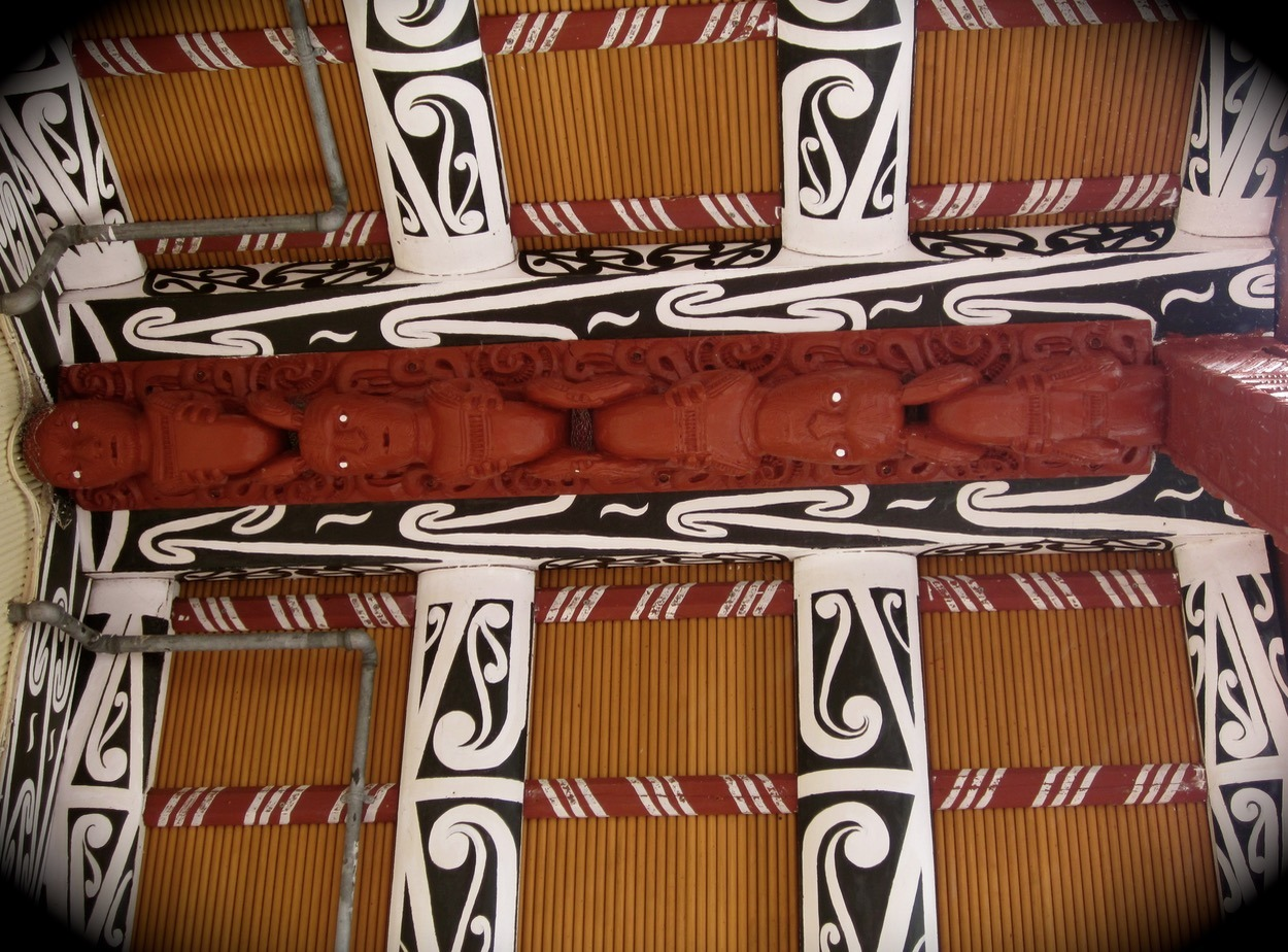 Whakarewarewa Thermal Village maori art