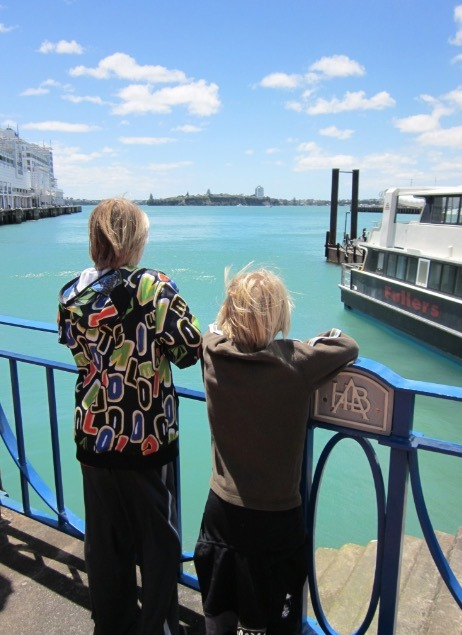 Auckland museam new zealand harbor