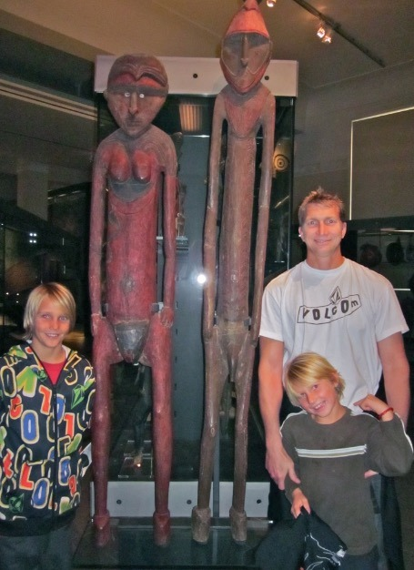 Auckland museam new zealand with families