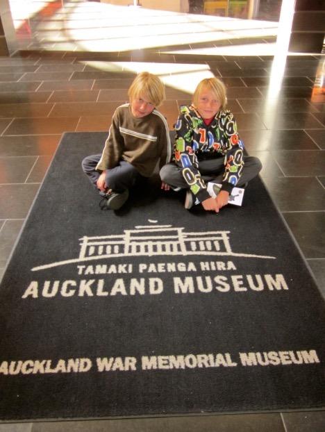 Auckland museum new zealand