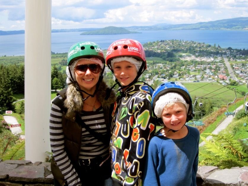 Rotarua new zealand luge rides