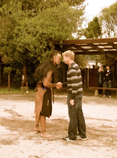 maori village new zealand maori greeting