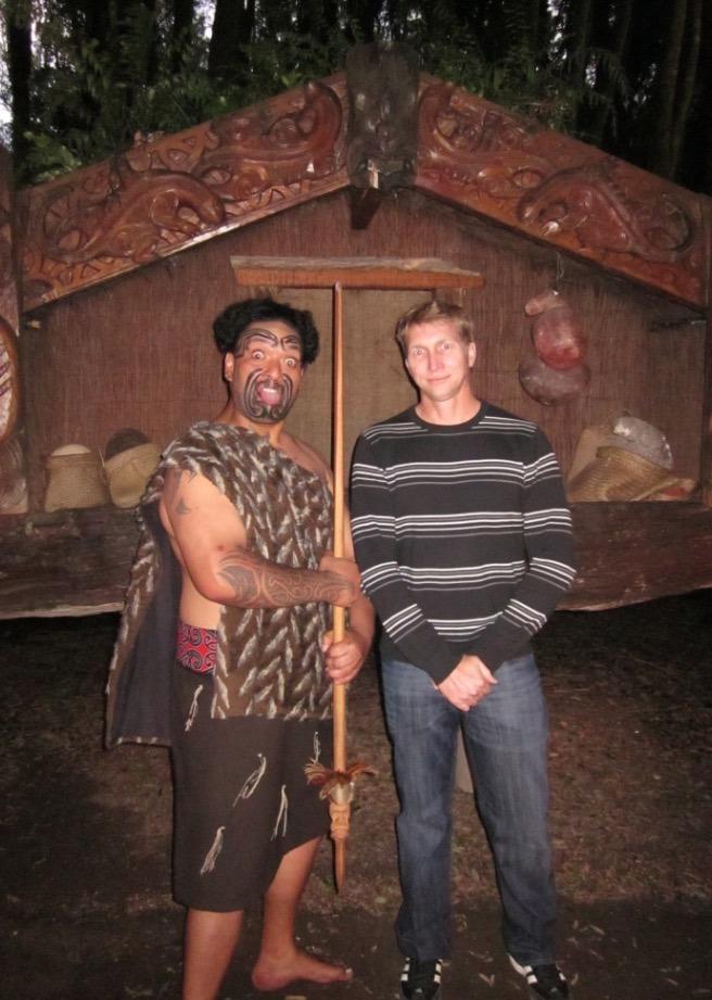 maori village new zealand - new cheif