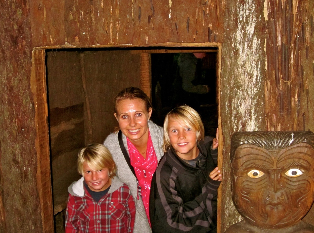 maori village new zealand with kids