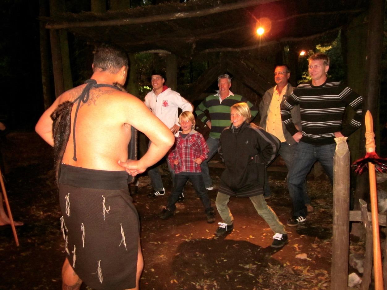 maori village new zealand dance