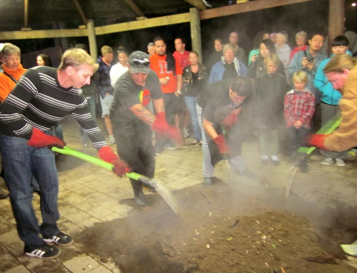 maori village new zealand fun night
