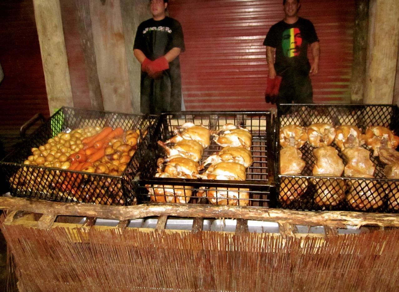 maori village new zealand food
