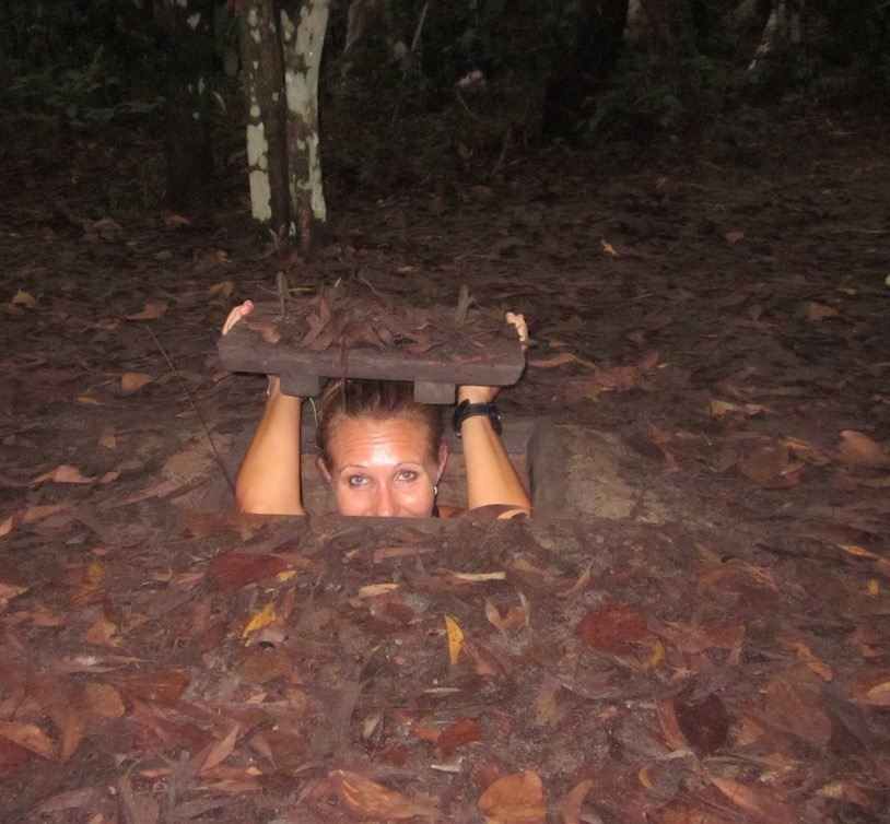 Ho Chi Minh (Saigon as it was formerly known cu chi tunnels were scary