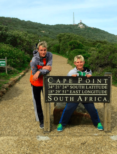 cape point with kids south africa