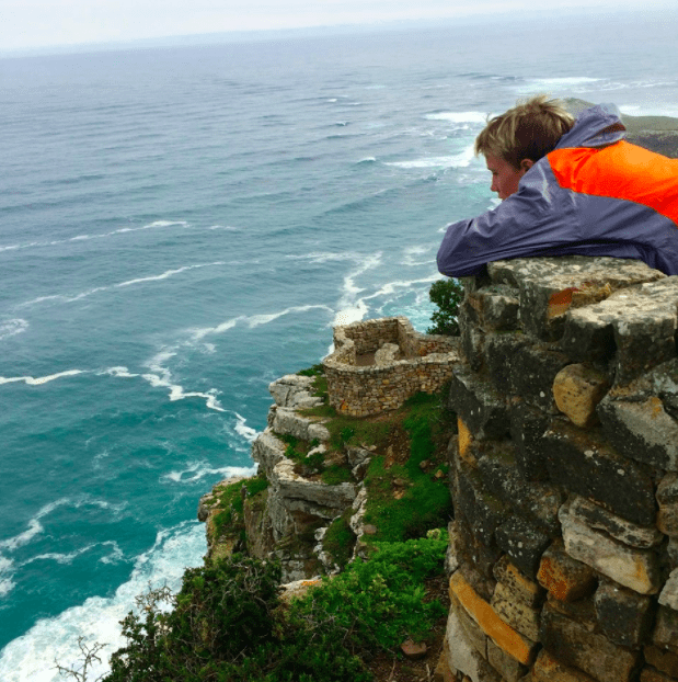 cape point with kids