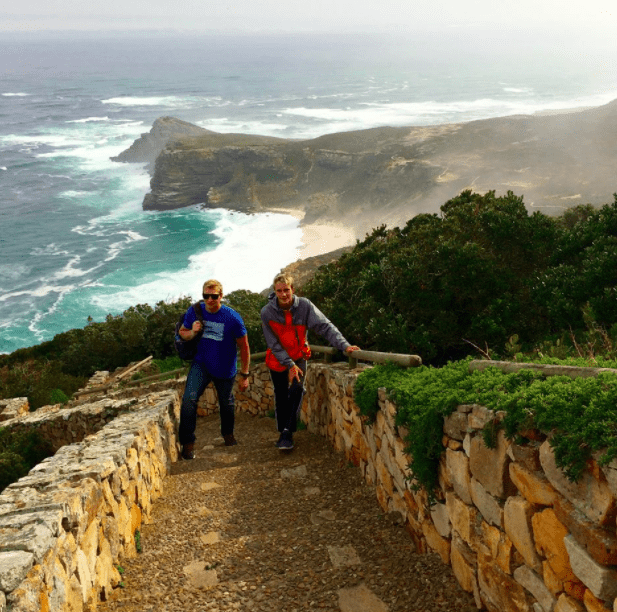 hiking in cape point africa