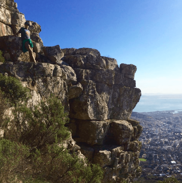 table mountain south africa with kids