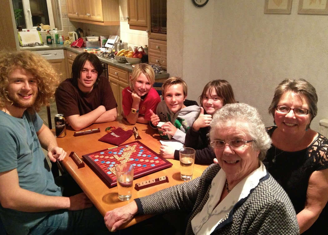board games with family