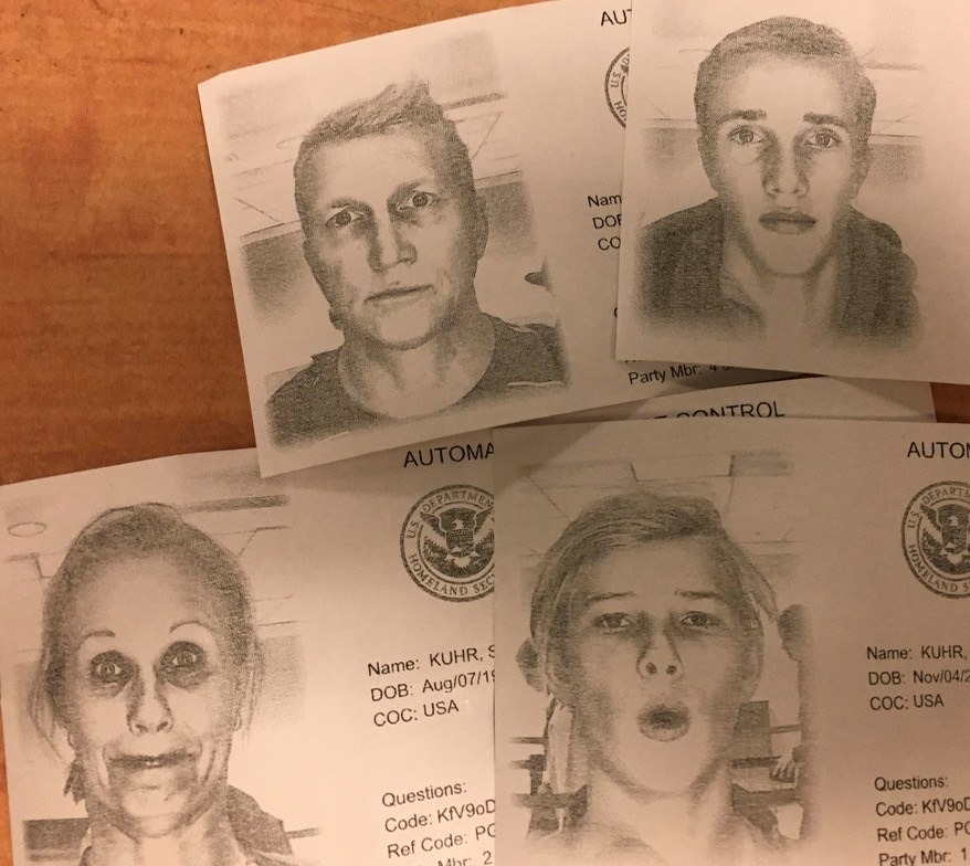 funny passport photos