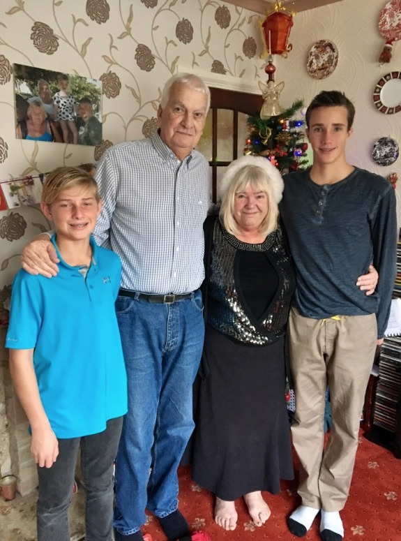Christmas with grandparents