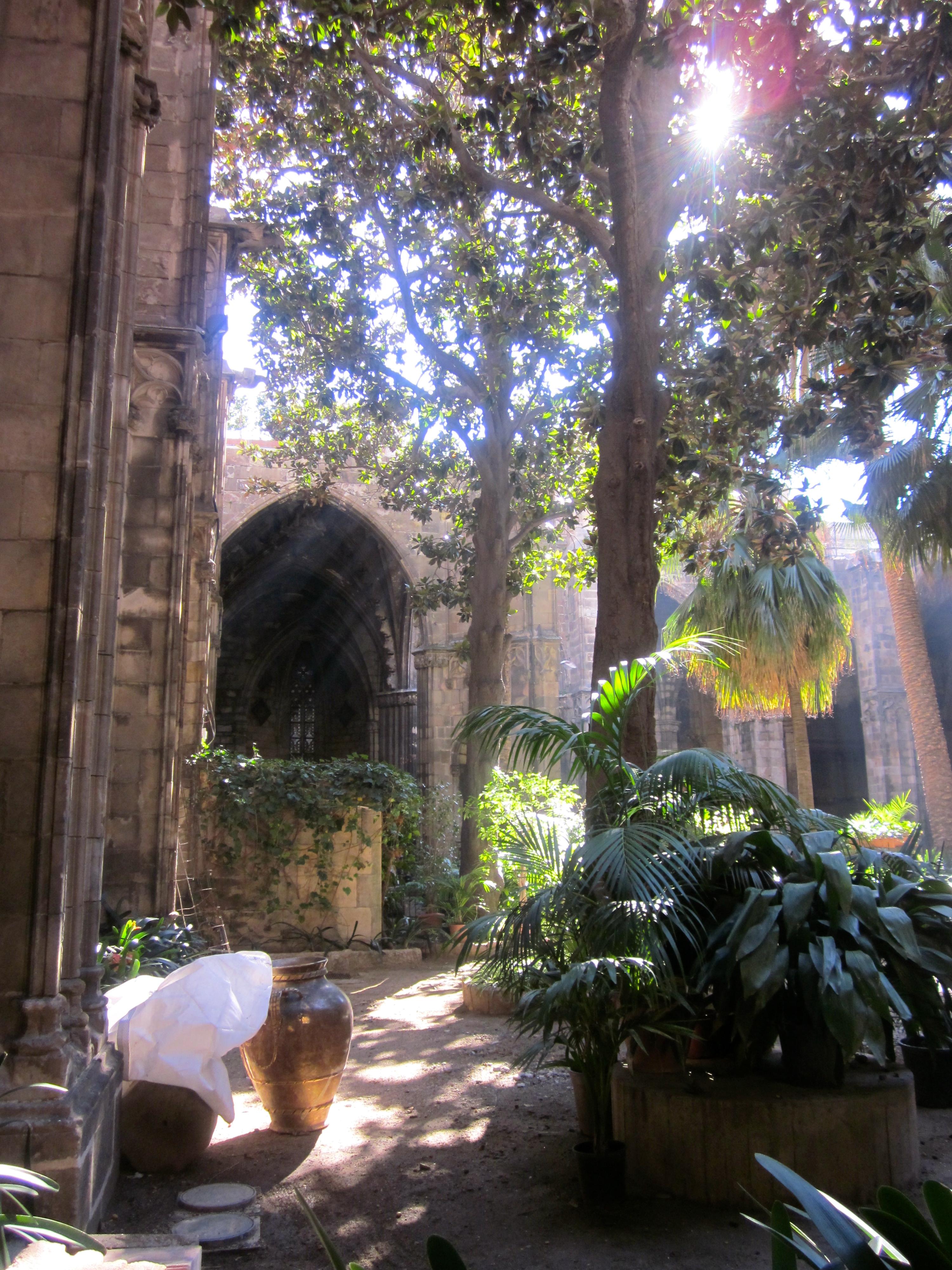 Barcelona SPain joan miro park