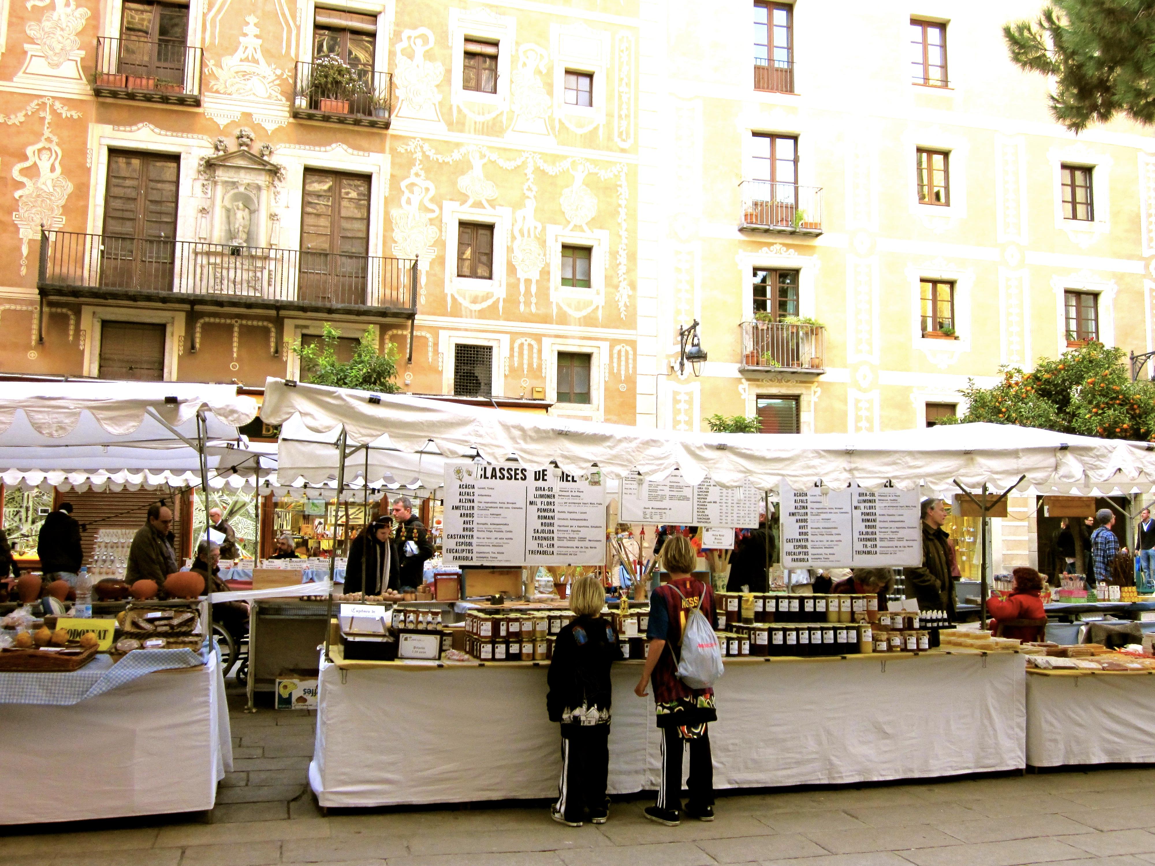 Barcelona SPain market