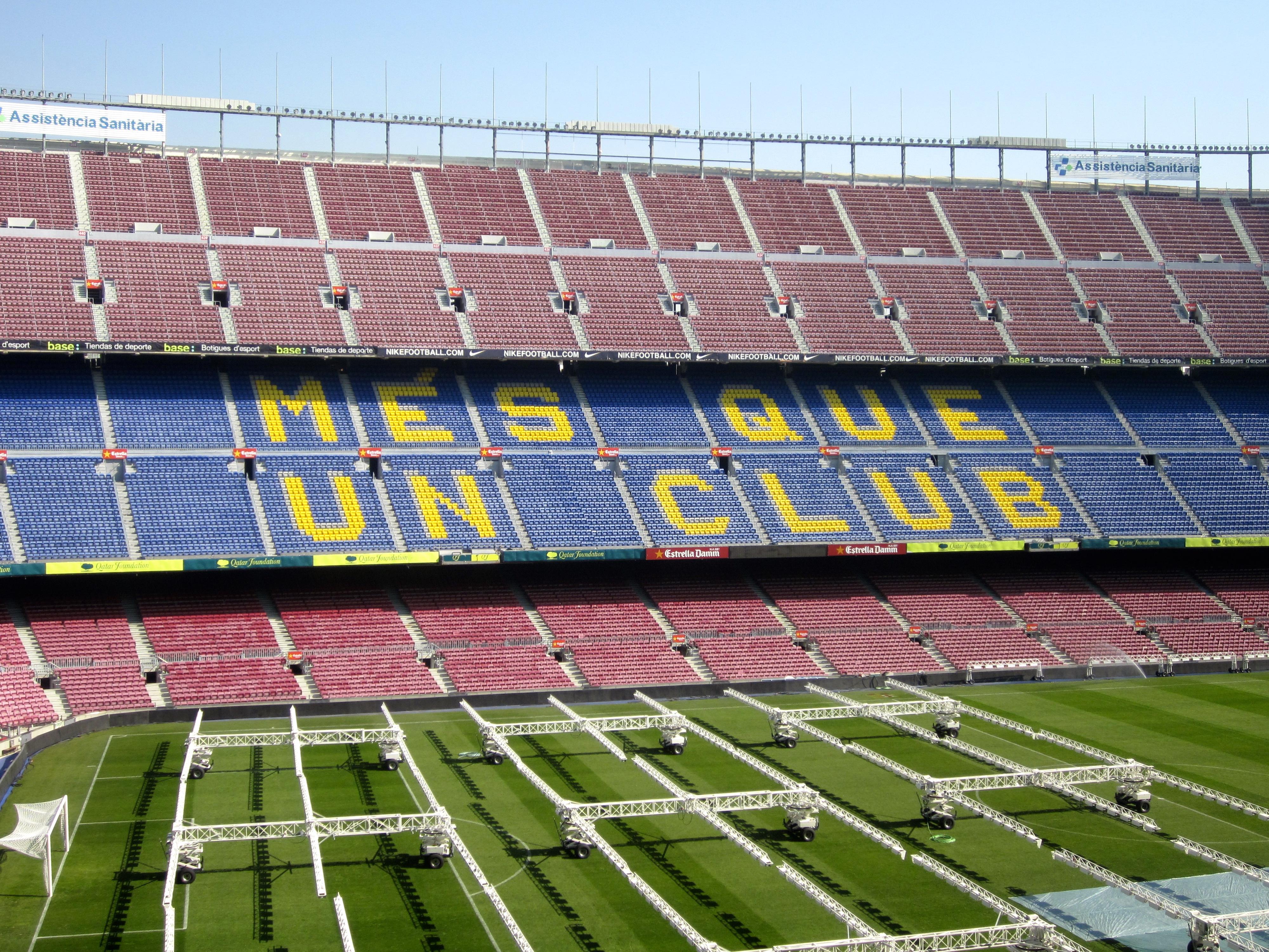 Camp Nou, Barcelona Spain