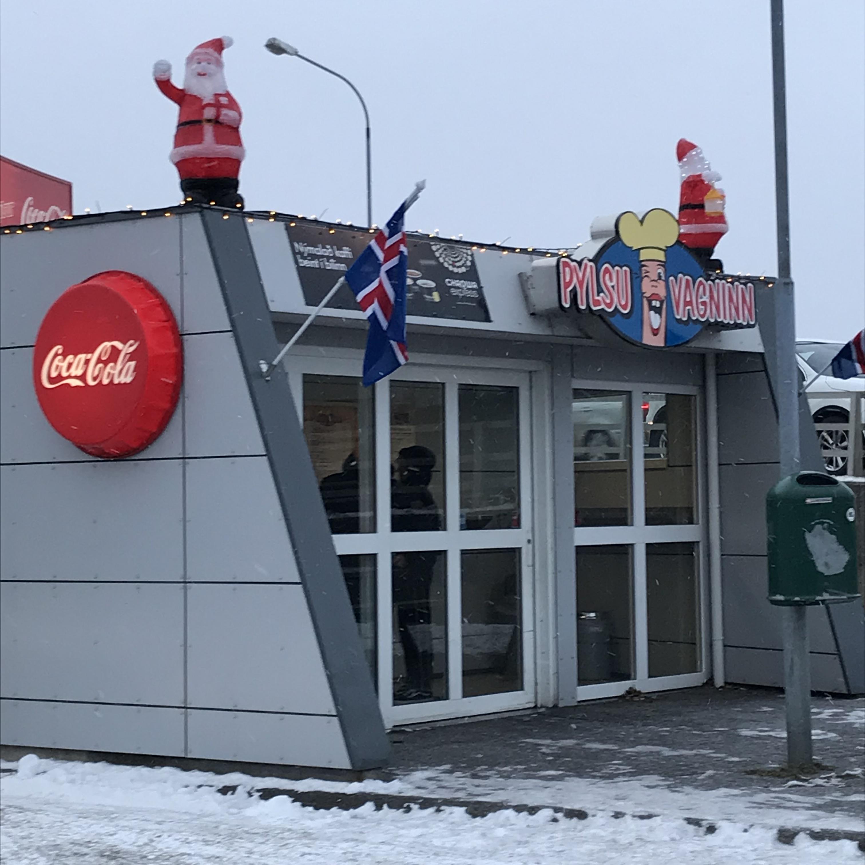 Reykjavik Iceland hot dogs