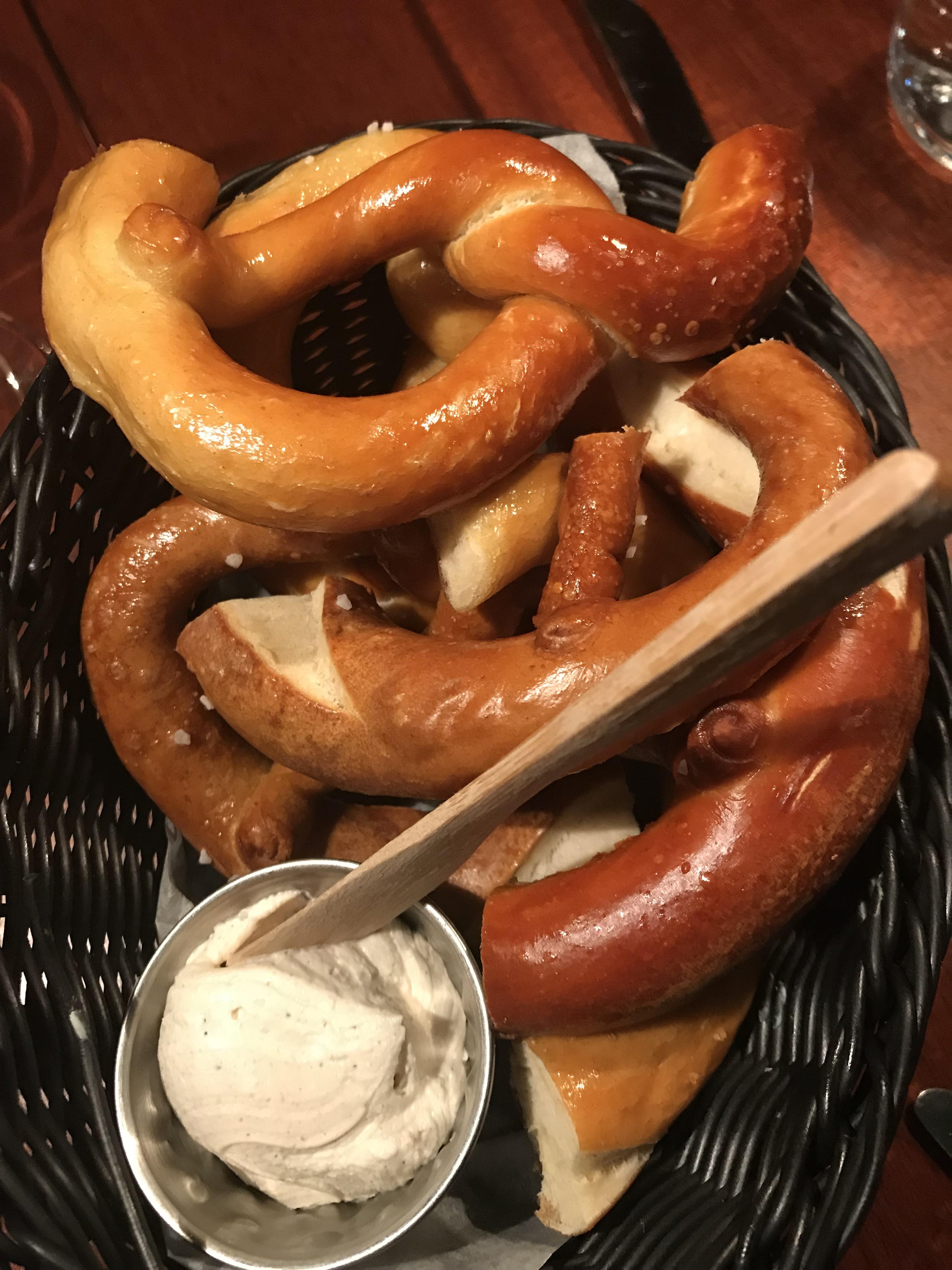 Reykjavik Iceland food pretzels