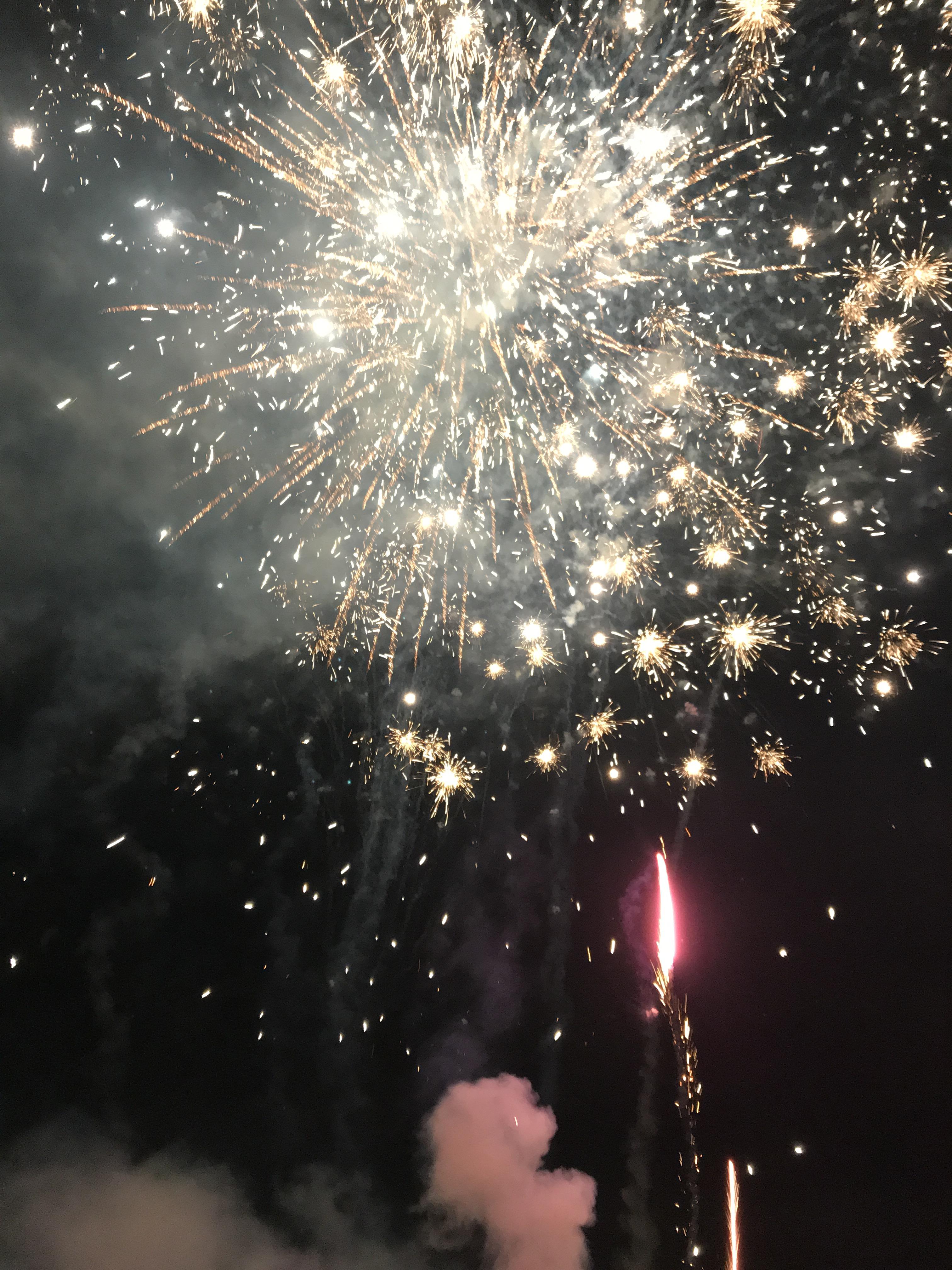 Reykjavik Iceland new years eve fireworks
