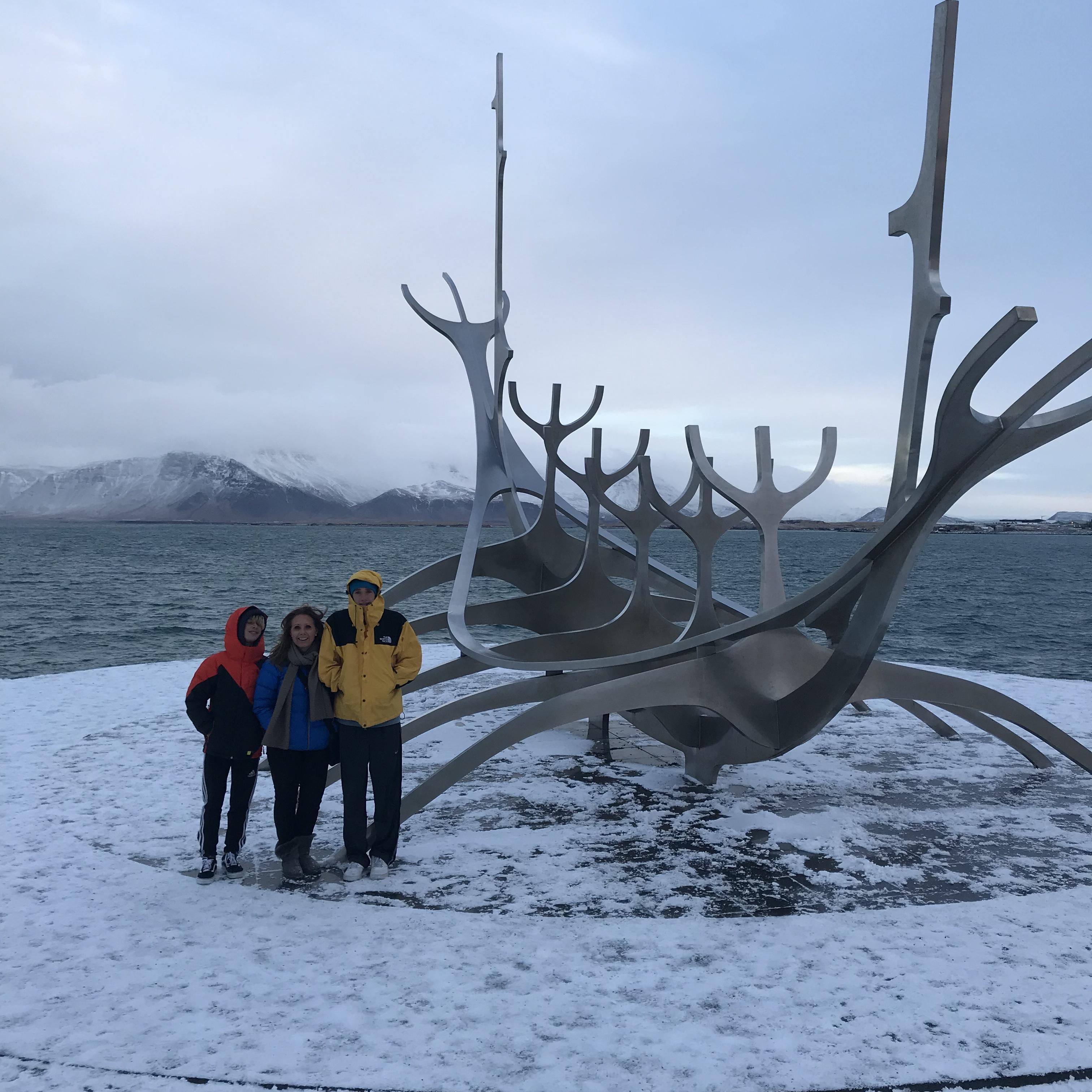 Reykjavik Iceland sun voyager art