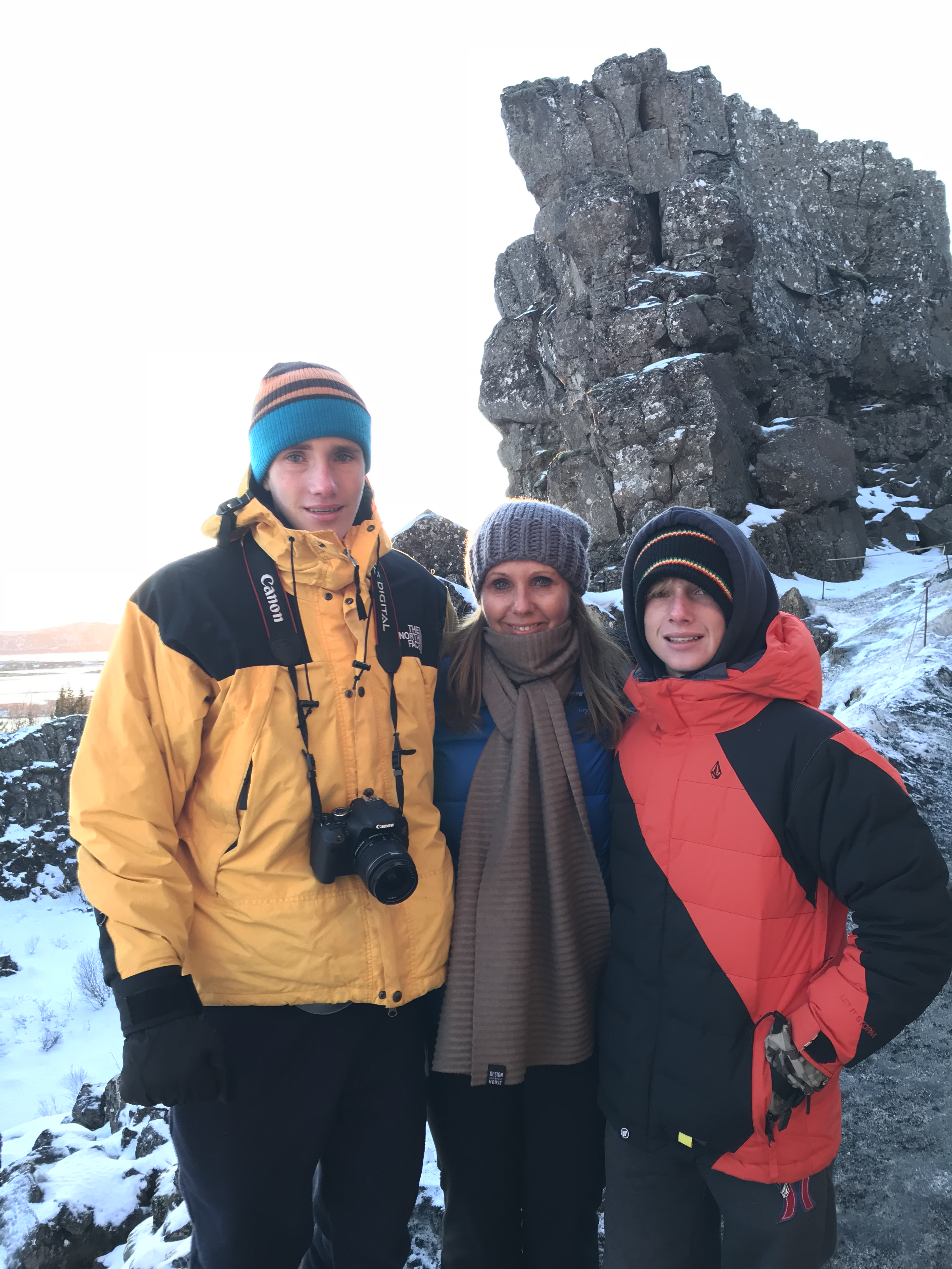 family in iceland