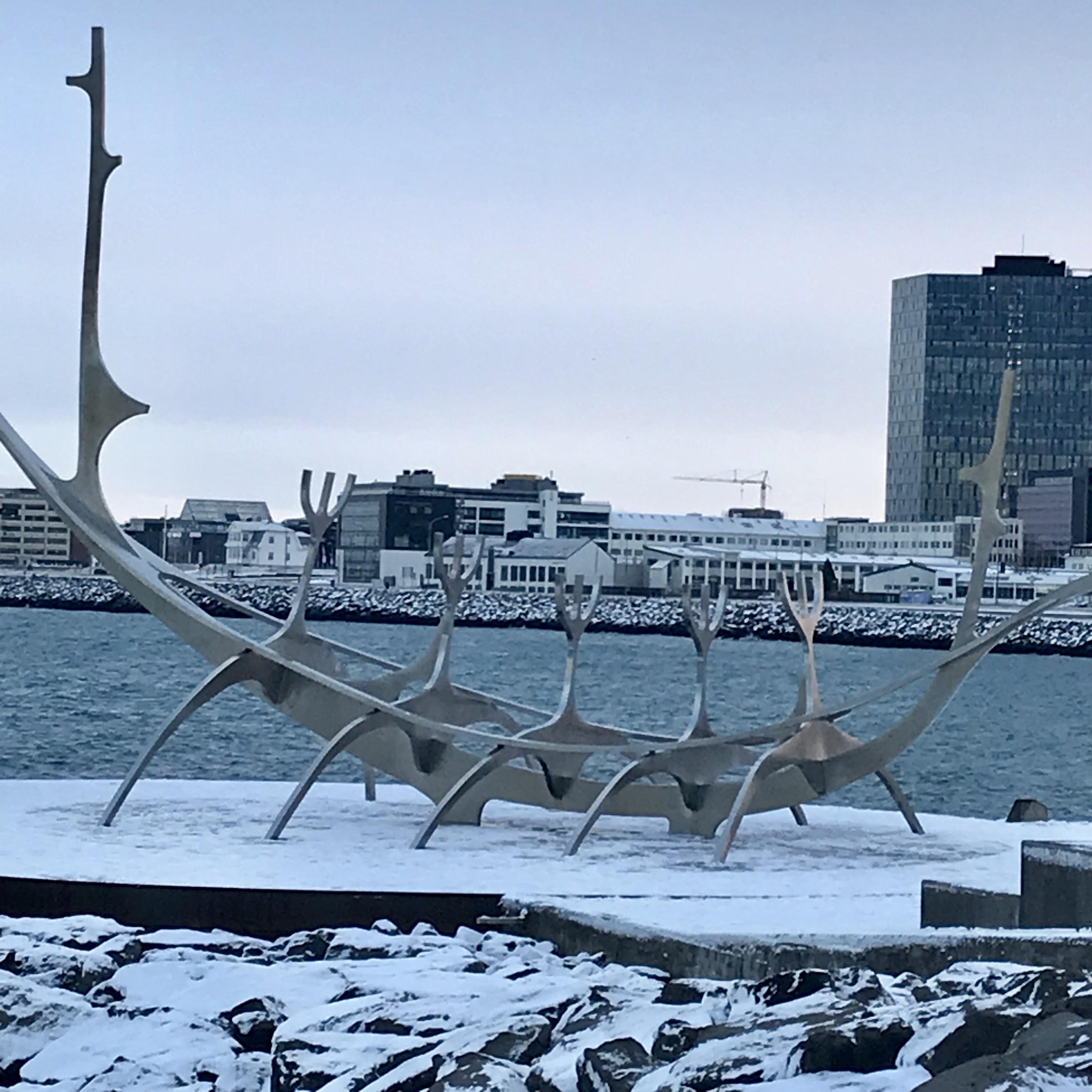 Reykjavik Iceland sun voyager