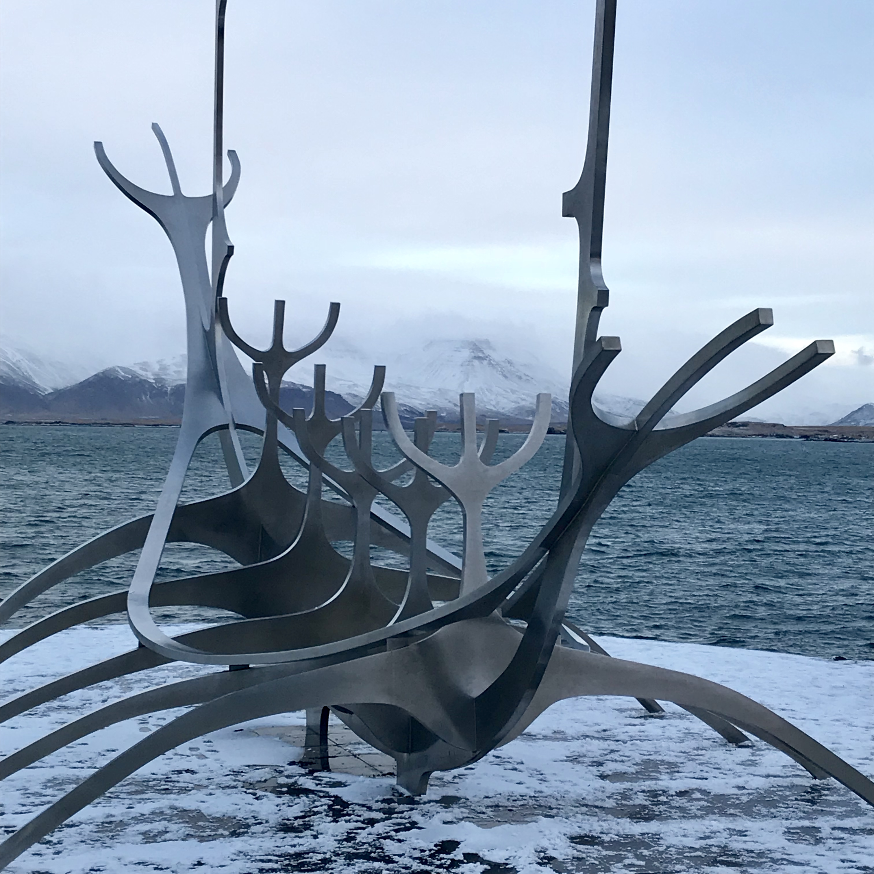 Reykjavik Iceland sun voyager 1