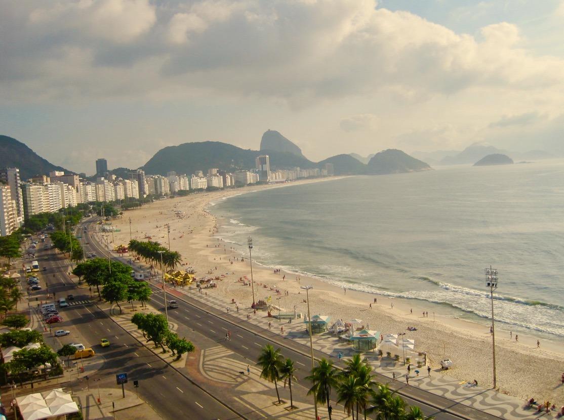 rio brazil copacabana beaches