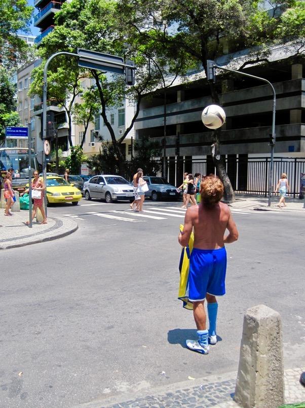 rio brazil beaches soccer football