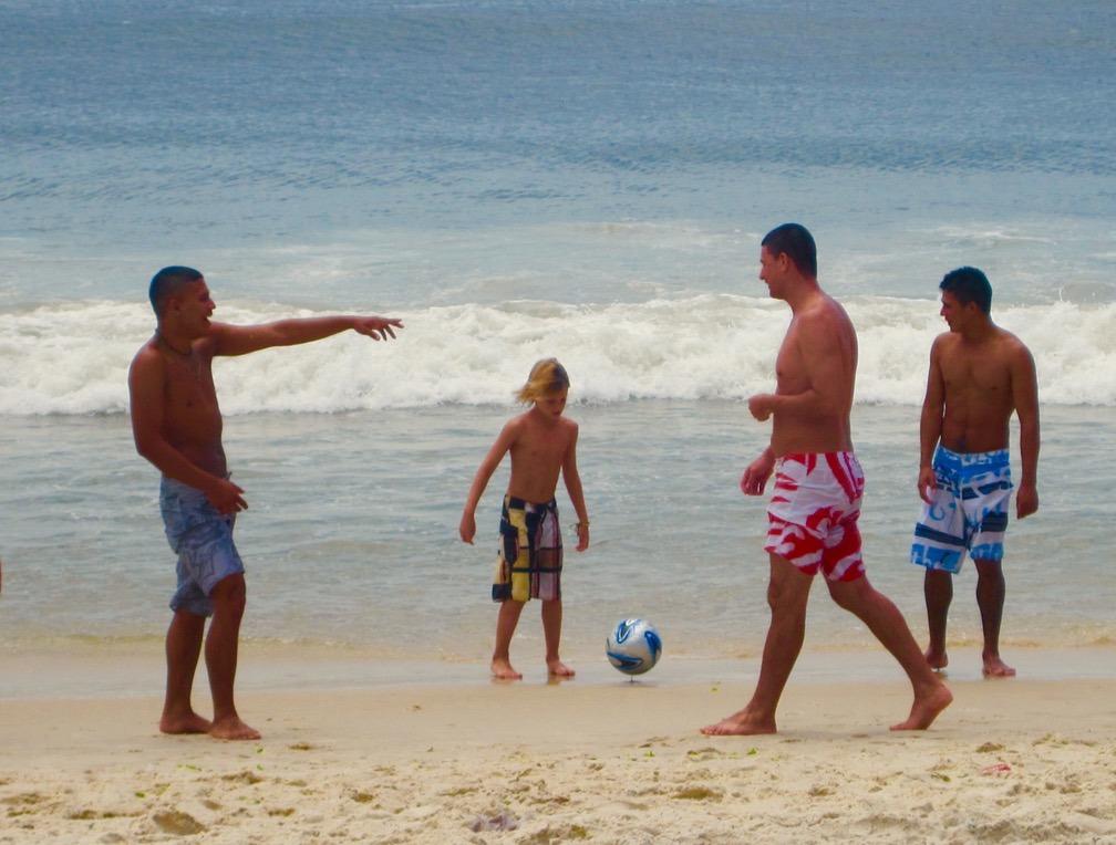 rio brazil beach football soccer