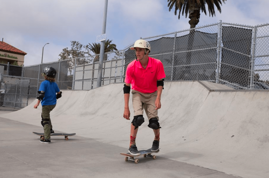 hermosa beach SK8 for the Schools sebastian and julian kuhr Sk8 for the Schools, Child Volunteering