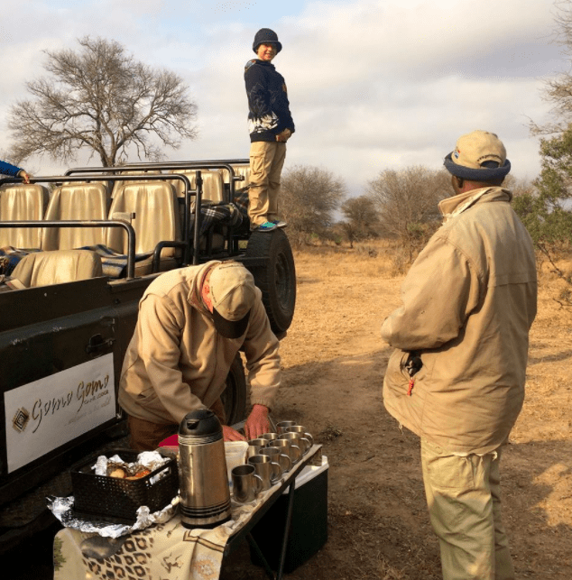 africa safari southafrica morning coffee