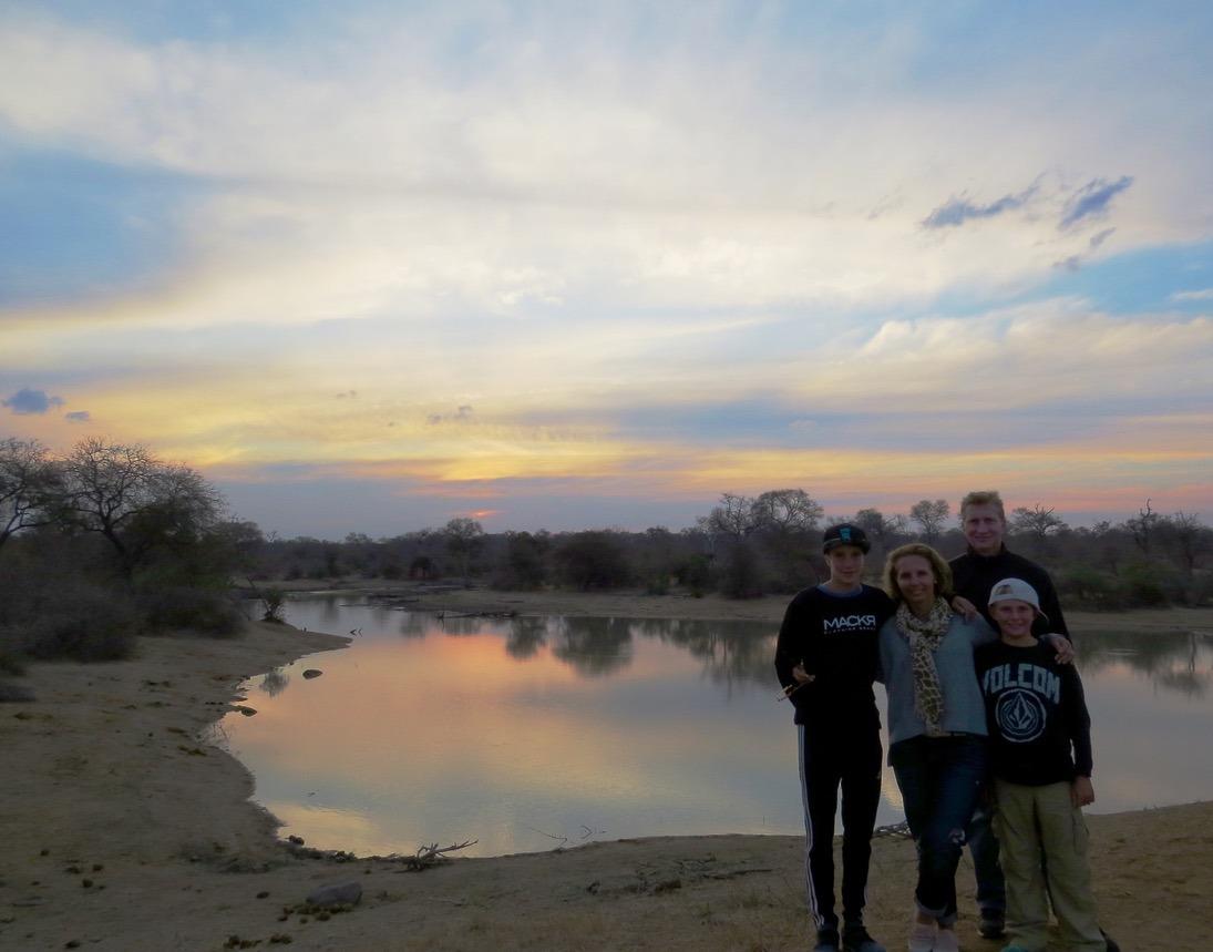 sunset africa safari southafrica big5
