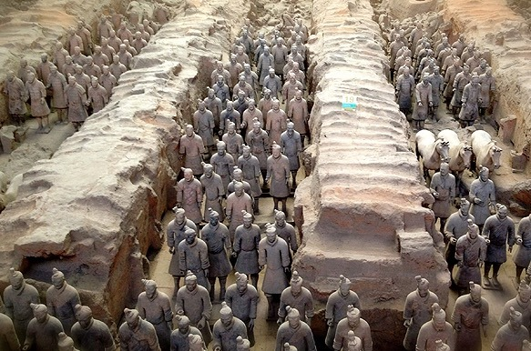 Xian China Terracotta warriors