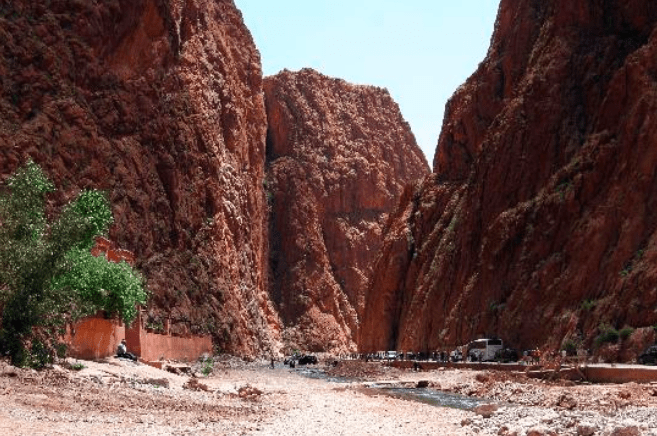 morocco sahara desert todra gorge