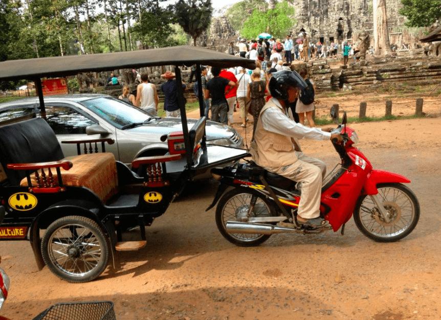 angkor wat cambodia siem reap tuk tuk