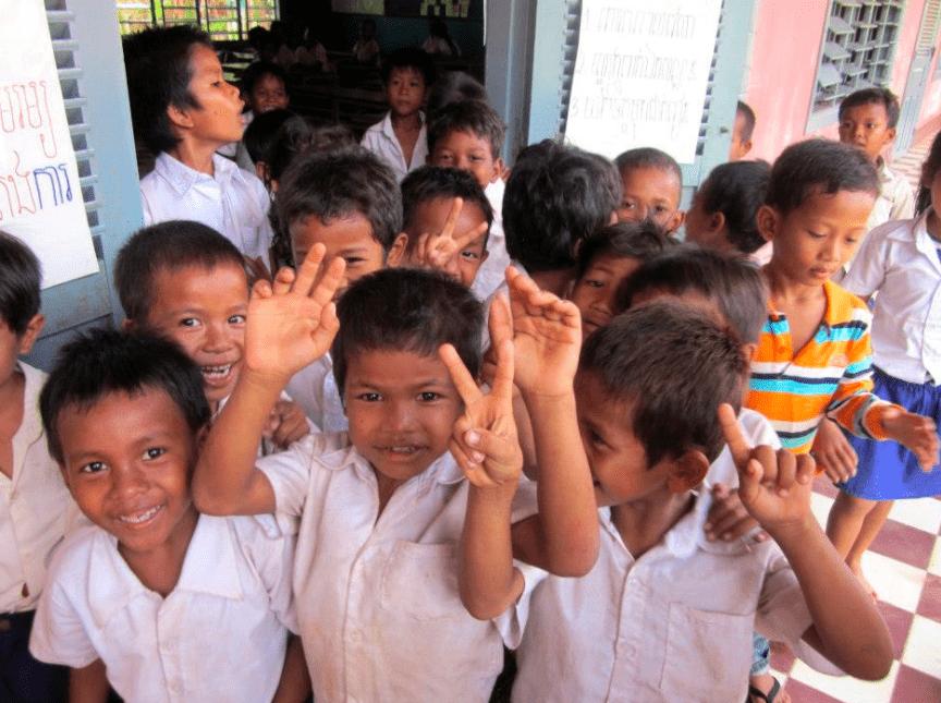 cambodia siem reap angkor wat orphanage