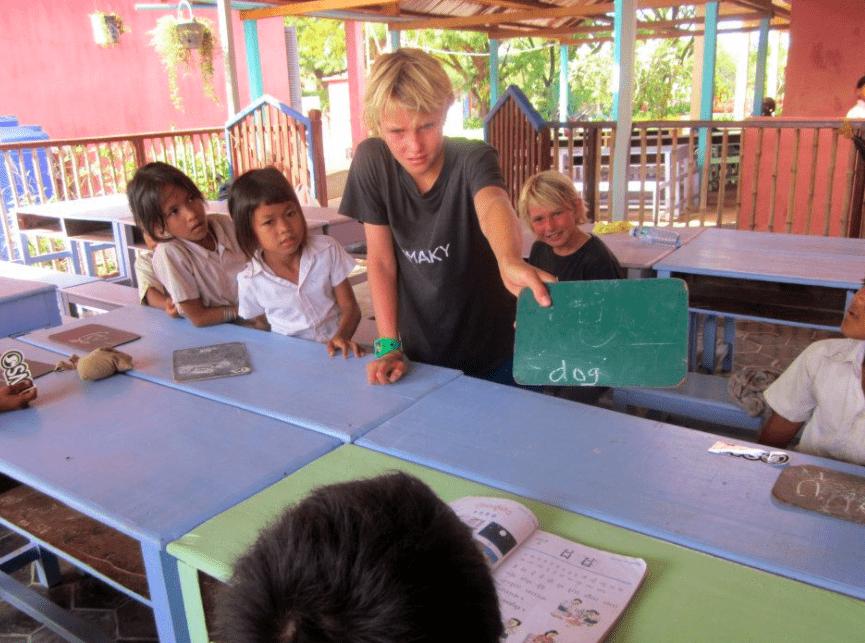 angkor wat cambodia siem reap orphanage