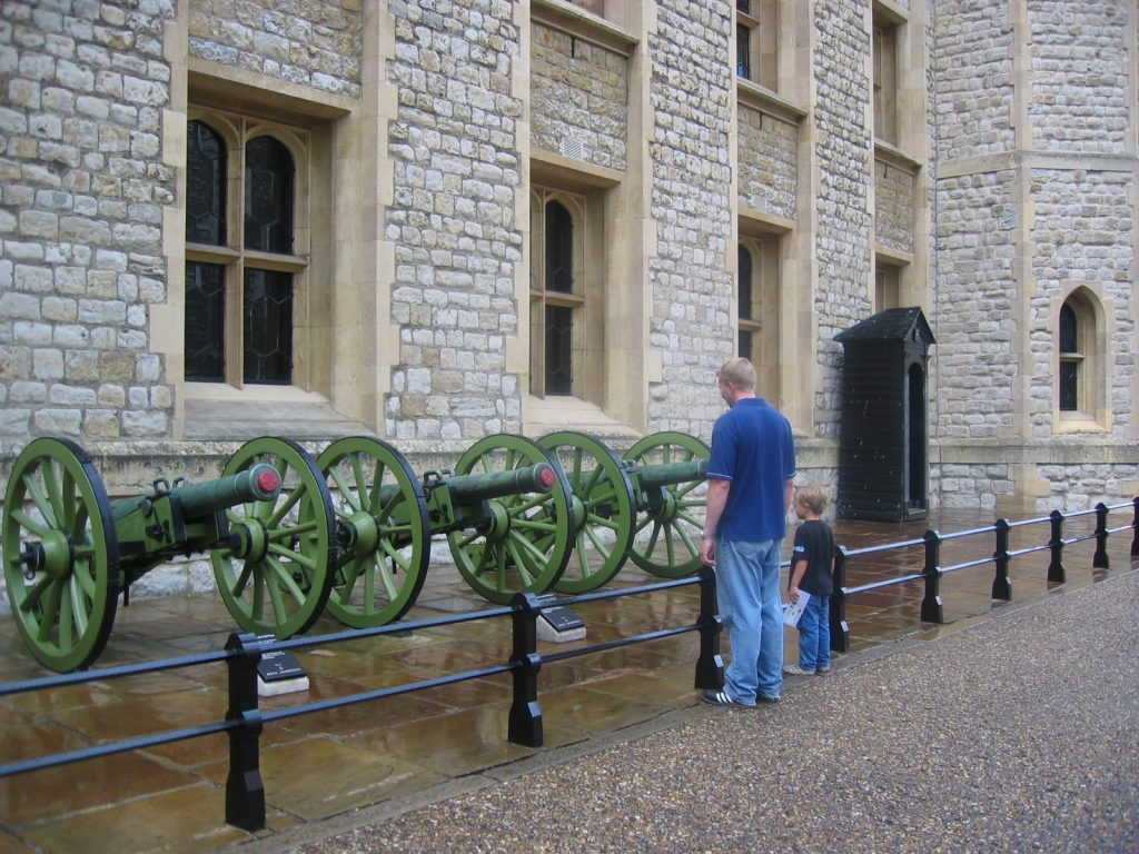 armory in The Tower of London